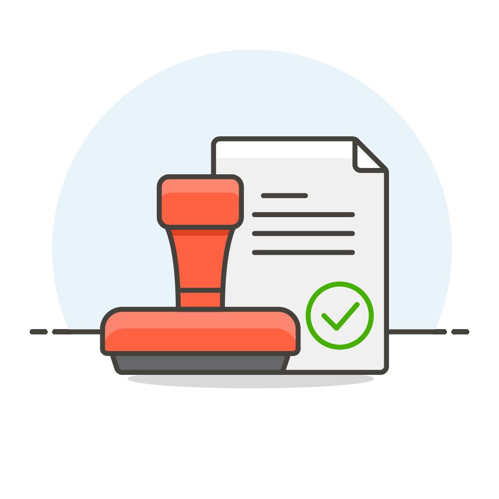stamp-document
