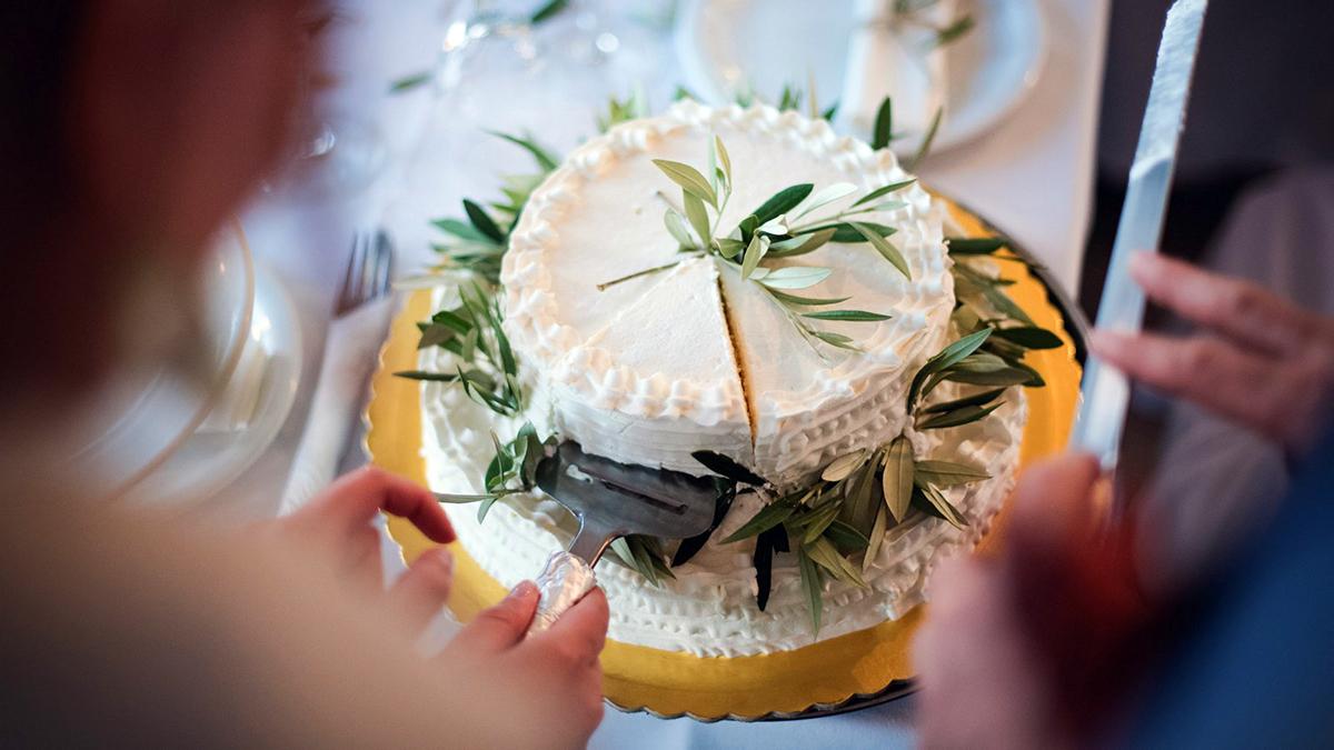 Kefalonia ślub tort