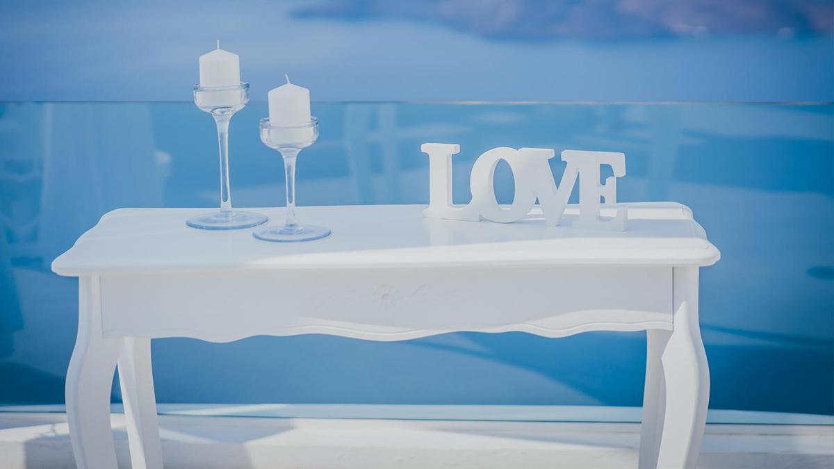 zdjęcie Santorini ślub